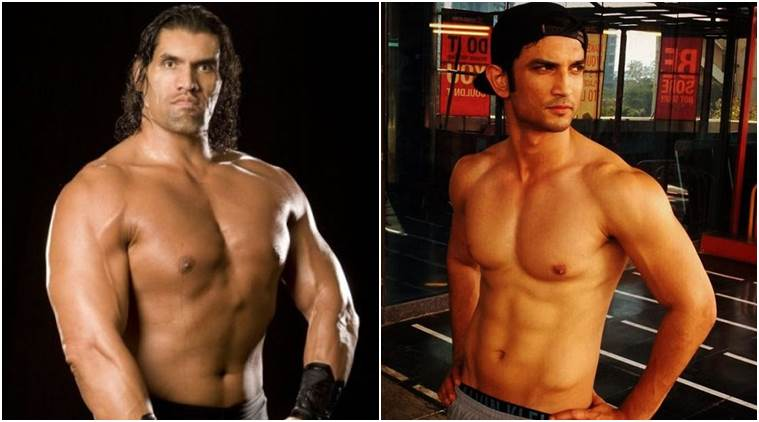 sushant singh rajput to play the great khali the indian express