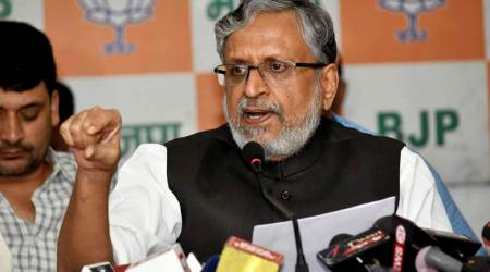 Those fond of black money are observing 'kala diwas': Sushil Kumar Modi