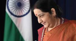 sushma swaraj unga address live updates, sushma swaraj unga address, sushma swaraj address, united nations, india news