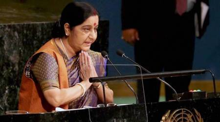 Sushma Swaraj UNGA address: Full text of her speech