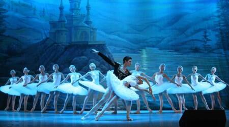 Swan Lake: Spectacular pictures from the Russian ballet bring eternal love alive