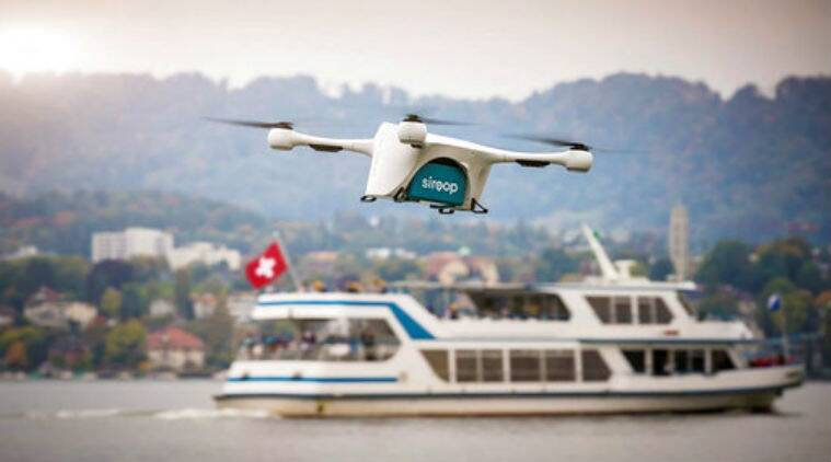 Drone, Switzerland, Matternet drones, Zurich area drone delivery, Mercedes-Benz partner, Switzerland aviation authority, American drone testing, CyPhy Works, UPS partner, drone high-volume buzz