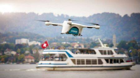 Delivery by drone: Switzerland tests it in populated areas