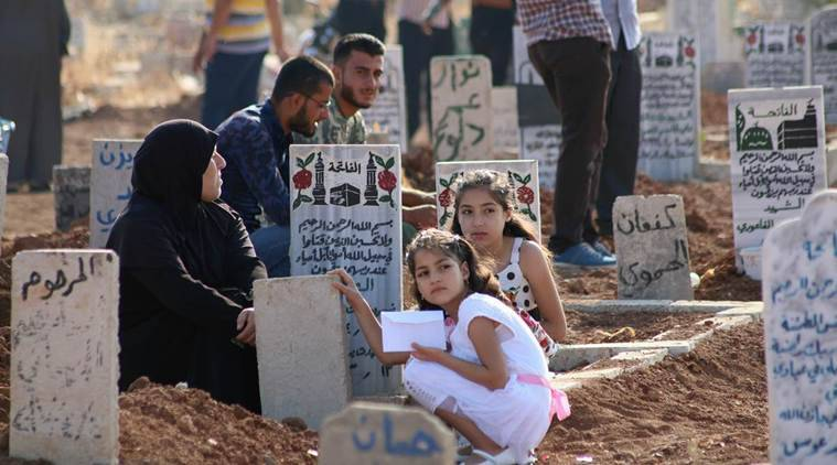 islamic state, syria, is, syrian regime, syrian monitor, syria islamic state death toll, hama, syrian observatory, world news, middle east news, indian express