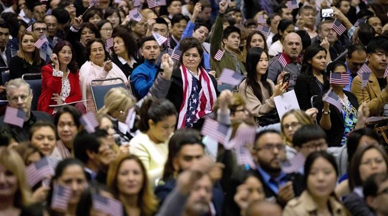 us immigrants welcome, trump welcomes us immigrants, trump video message immigrants welcome, world news, indian express news
