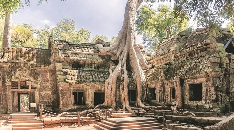 Ananda Temple, cultural symbols, indian cultural symbols, indian temples, Ta Prohm Temple, Cham Monuments, Thiruketeeswaram Temple, indian express