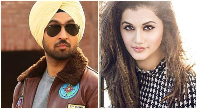 Taapsee Pannu & Diljit Dosanjh team up for a sports biopic!