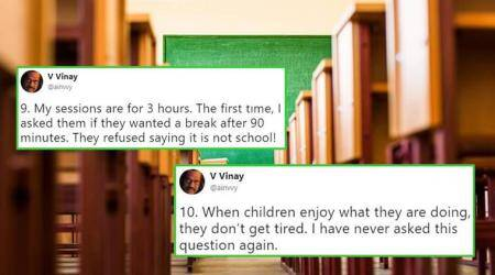 'My class is NOISY': This teacher shatters all classroom stereotypes in his Twitter thread