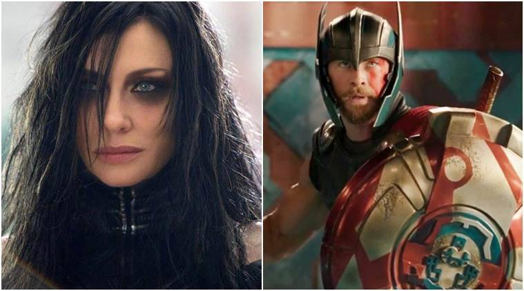 thor ragnarok actor chris hemsworth cate blanchett is