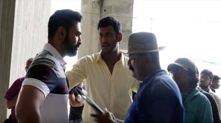 Watch Vishal, Mysskin's camaraderie on the sets of Thupparivaalan