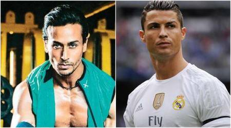 Tiger Shroff expresses interest in working on Cristiano Ronaldo biopic