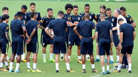 Tite to make four changes to Brazil side vsColombia