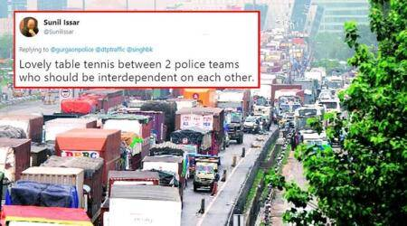 Delhi and Gurugram Police played 'blame game' on Twitter amid chaotic traffic jam