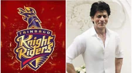 Shah Rukh Khan, Trinbago Knight Riders, Guyana Amazon Warriors, Trinbago Knight Riders vs Guyana Amazon Warriors, CPL 2017, sports news, cricket, Indian Express