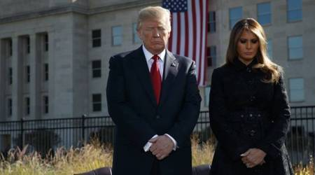 President Donald Trump, US President Donald Trump, America Terror Attack, 9/11 Terror Attack, US World Trade Centre Terror Attack, World Trade Centre Terror Attack, World News, Latest World News, Indian Express, Indian Express News