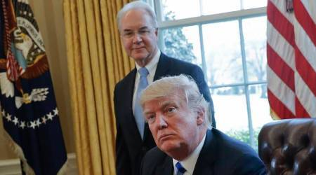 US health secretary Tom Price to repay cost of private jet travel