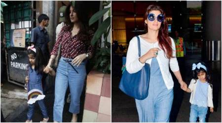 Twinkle Khanna's darling daughter Nitara and her rainbow bag is the cutest thing you will see today