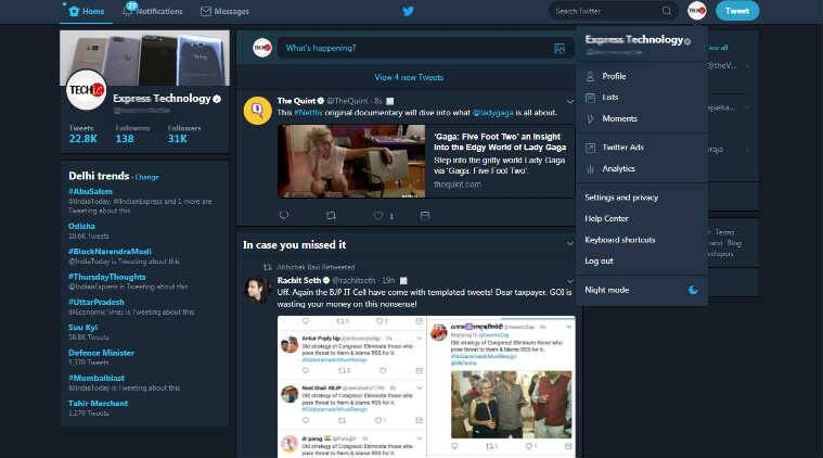Twitter brings 'Night mode' to desktop: How to turn it on