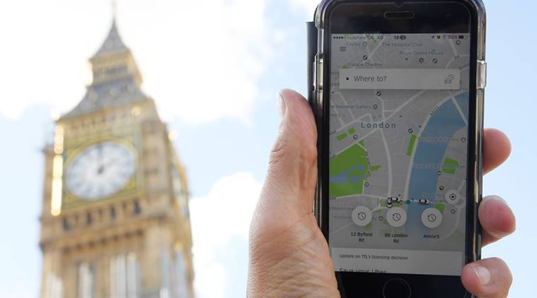 Uber, licence suspended, Uber licence, Uber licence suspended, Uber licence London, World News, UBer Drivers, London labour laws, World News, Indian Express