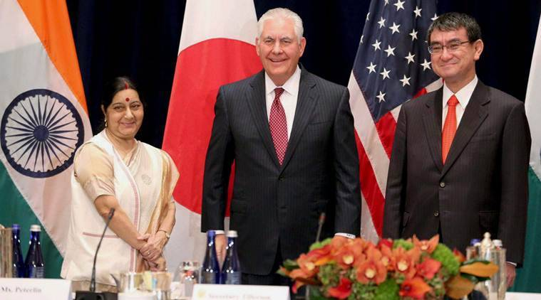 sushma swaraj, north korea, nuclear sanctions, Pakistan, North norea nuclear sanctions, north korea pakistan, sushma swaraj pakistan, india north korea,