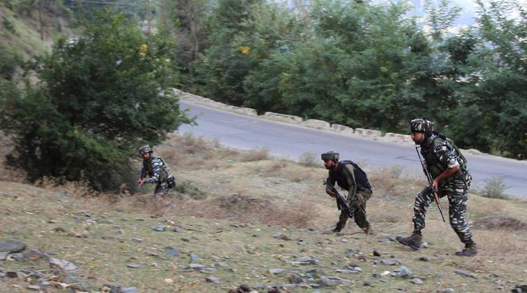 kashmir encounter, militants killed kashmir, uri sector, kalgai encounter, terrorist plans kashmiri militants, uri kaman road, jammu, kashmir latest news, indian express