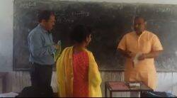 uttarakhand, uttarakhand education minister, arvind pandey, minister wrong maths, minister insult maths teacher, uttarakhand minsiter insult teacher, viral videos, latest news, india news