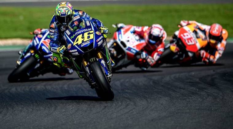 Rossi poised for Aragon MotoGP