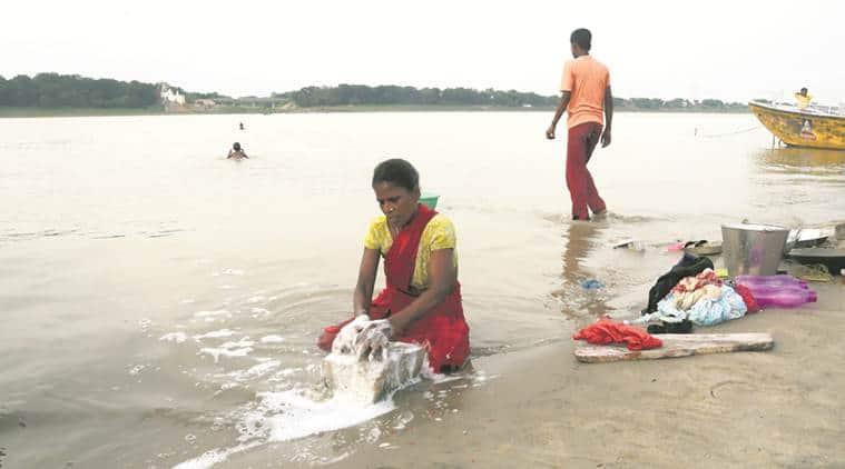 National Mission for Clean Ganga (NMCG), Clean Ganga,Ek Shaam Ganga ke Naam, General U P Singh , Namami Gange, India news, Indian Express News