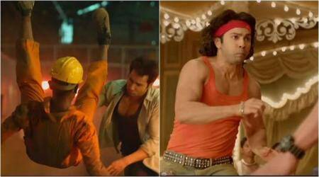 Watch Judwaa 2 behind the scenes video: Varun Dhawan is pulling off breathtaking stunts and we are in awe