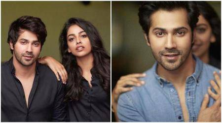 Varun Dhawan's leading lady in October is none other than Banita Sandhu. See photos