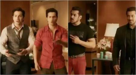 Judwaa 2 teaser: Varun Dhawan is equally shocked like us to see two Salman Khans