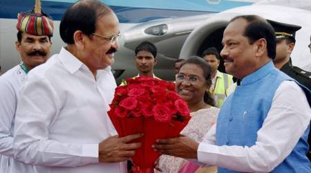 Venkaiah Naidu lays foundation for smart city project in Ranchi; criticises Maoists