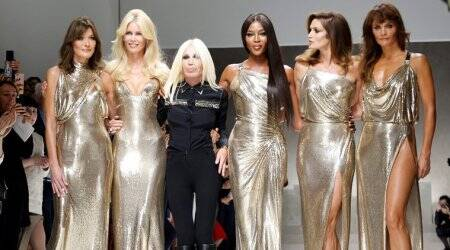Milan Fashion Week: Donatella Versace pays tribute to her slain brother with original 90s supermodels