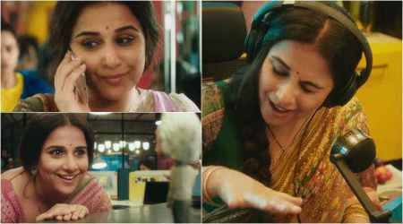 Watch Tumhari Sulu teaser: Vidya Balan's sensuous voice needs to be heard on a loop
