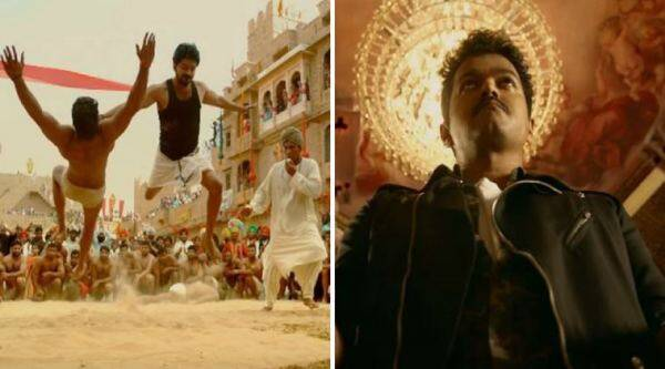 Mersal images, Vijay images