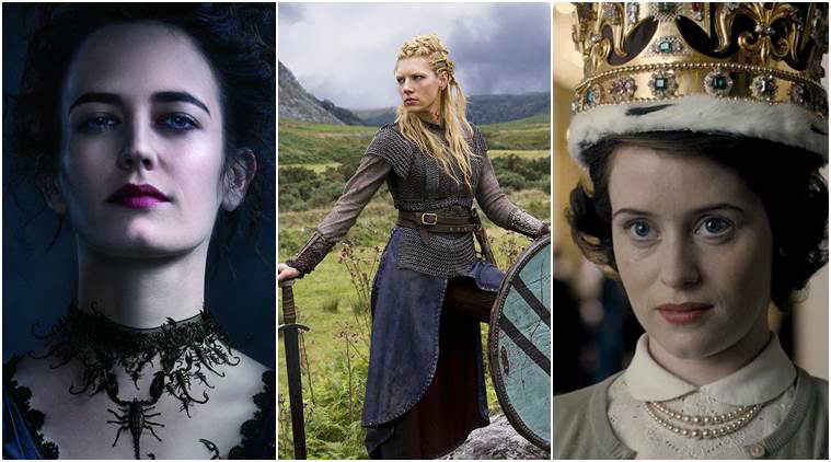 vikings, penny dreadful, the crown, women in tv shows, tv shows strong women