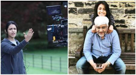 Vikram Bhatt's daughter Krishna Bhatt turns director and he cannot believe it. See photos