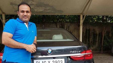 Virender Sehwag thanks Sachin Tendulkar for gifting BMW worth Rs 1.14 crore