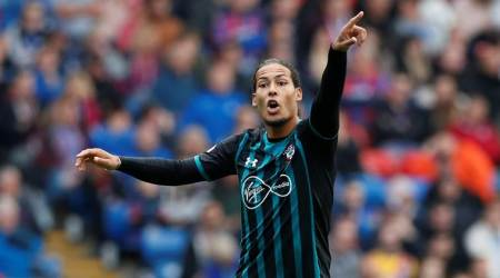 Virigil Van Dijk given his first minutes of season in Crystal Palace win