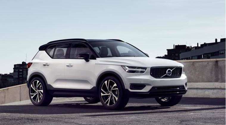 volvo xc40 compact suv the indian express. Black Bedroom Furniture Sets. Home Design Ideas