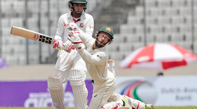 Bangladesh strikes back after Warner ton