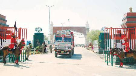 Pak border squeeze chokes Indiantraders