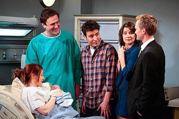 how i met your mother, robin scherbatsky, ted mosby, marshall erikson, lily arwin, barney stinson, how i met your mother stills, how i met your mother pictures