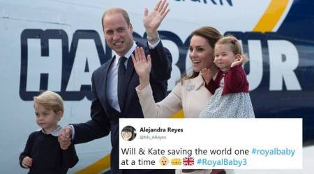 Prince William and Kate Middleton are expecting third #royalbaby and Twitterati can't keep calm