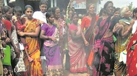 Telangana Minister says Congress behind protests: Women make bonfires of 'inferior-quality' sarees gifted by state govt