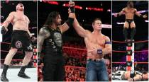 Brock Lesnar, Roman Reigns emerge victorious at WWE No Mercy