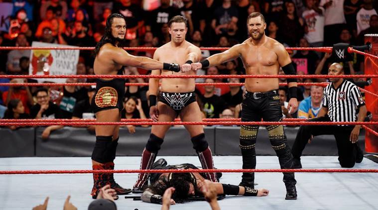 wwe raw, wwe raw results, roman reigns, the miz,the miz vs roman reigns, wwe raw photos, wwe raw videos, wwe news, sports news, indian express