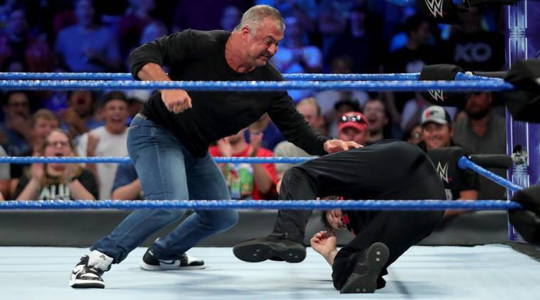 wwe smackdown, wwe smackdown results, shane mcmahon, kevin owens, shane mcmahon suspended, wwe news, sports news, indian express
