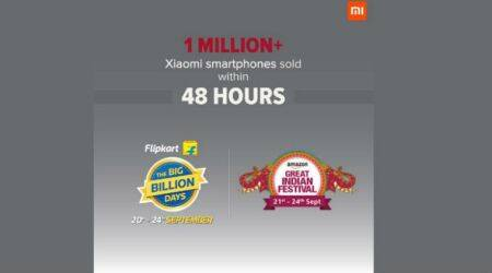 Amazon, Flipkart sales: Xiaomi claims to sell over 1 million smartphones in 48 hours