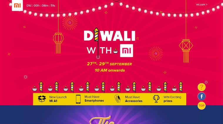 fe94c10096a Xiaomi Diwali with Mi sale is live  Top offers on Redmi Note 4